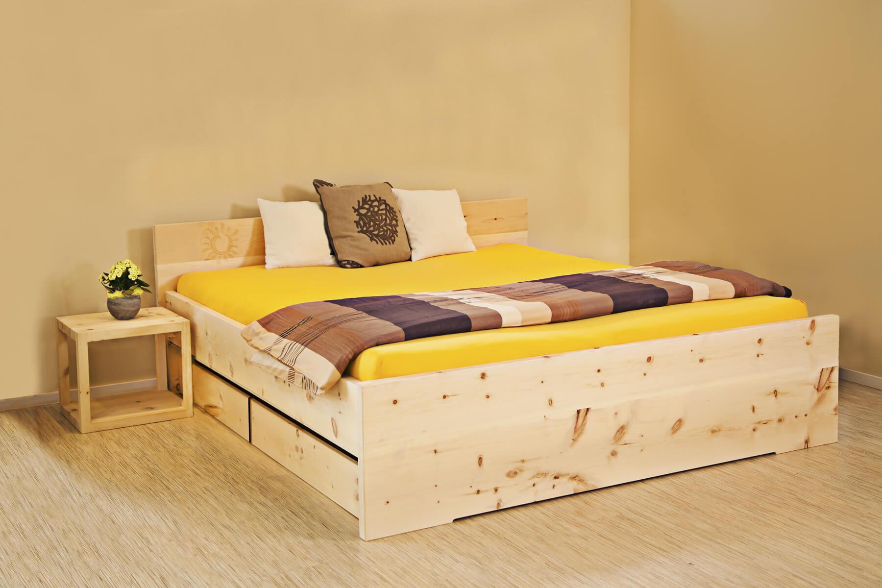 harry sally mit stauraum metallfreie massivholzbetten. Black Bedroom Furniture Sets. Home Design Ideas