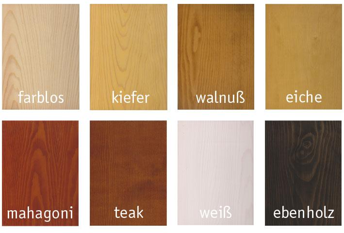 Berühmt Volvox proAqua Holzlasur weiß - lösemittelfrei | Naturanum VW78