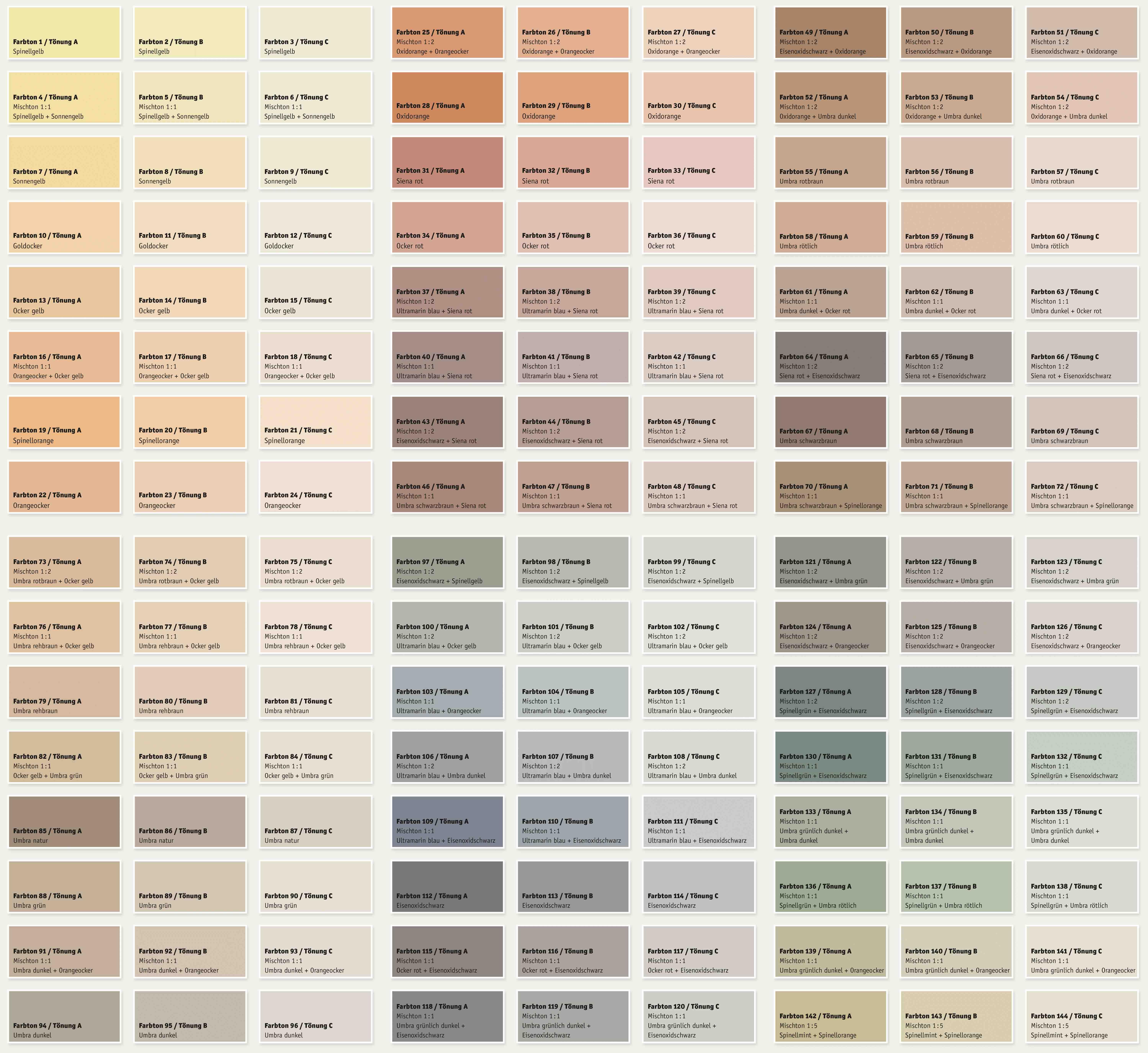 Sehr Kreidezeit GekkkoSOL Farbe - Wandfarbe auf Silikatbasis   Naturanum KB72