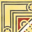 53049/165 - 16,5 x 16,5 x 1,6 cm - Eckplatte Sonderedition