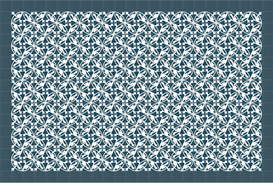 via zementmosaikplatte 10843 muster standardsortiment via platten b den naturanum. Black Bedroom Furniture Sets. Home Design Ideas