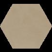 6-10 - ø 16,0 x 1,6 cm - Sechseckplatte Standardfarbe sand