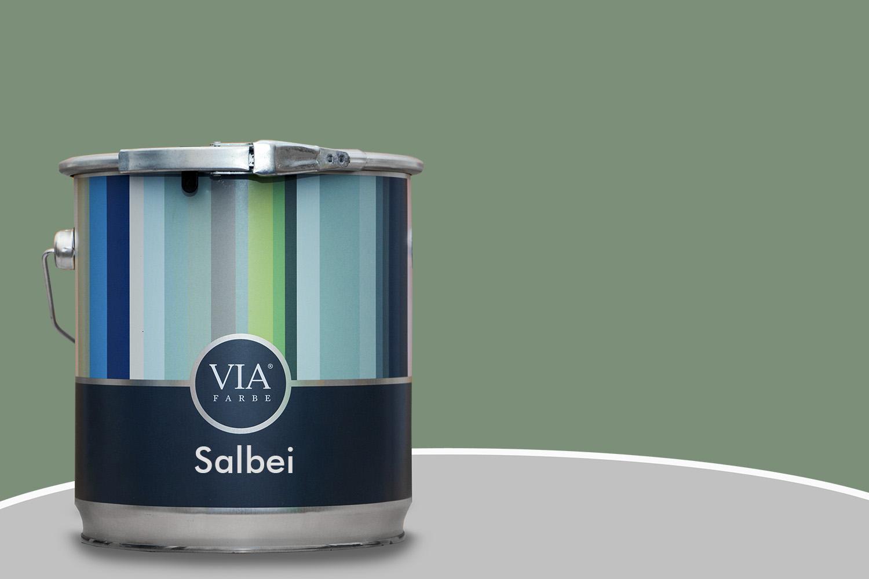 Via kreidefarbe salbei 203 farbe f r wand und m bel - Salbei farbe wand ...