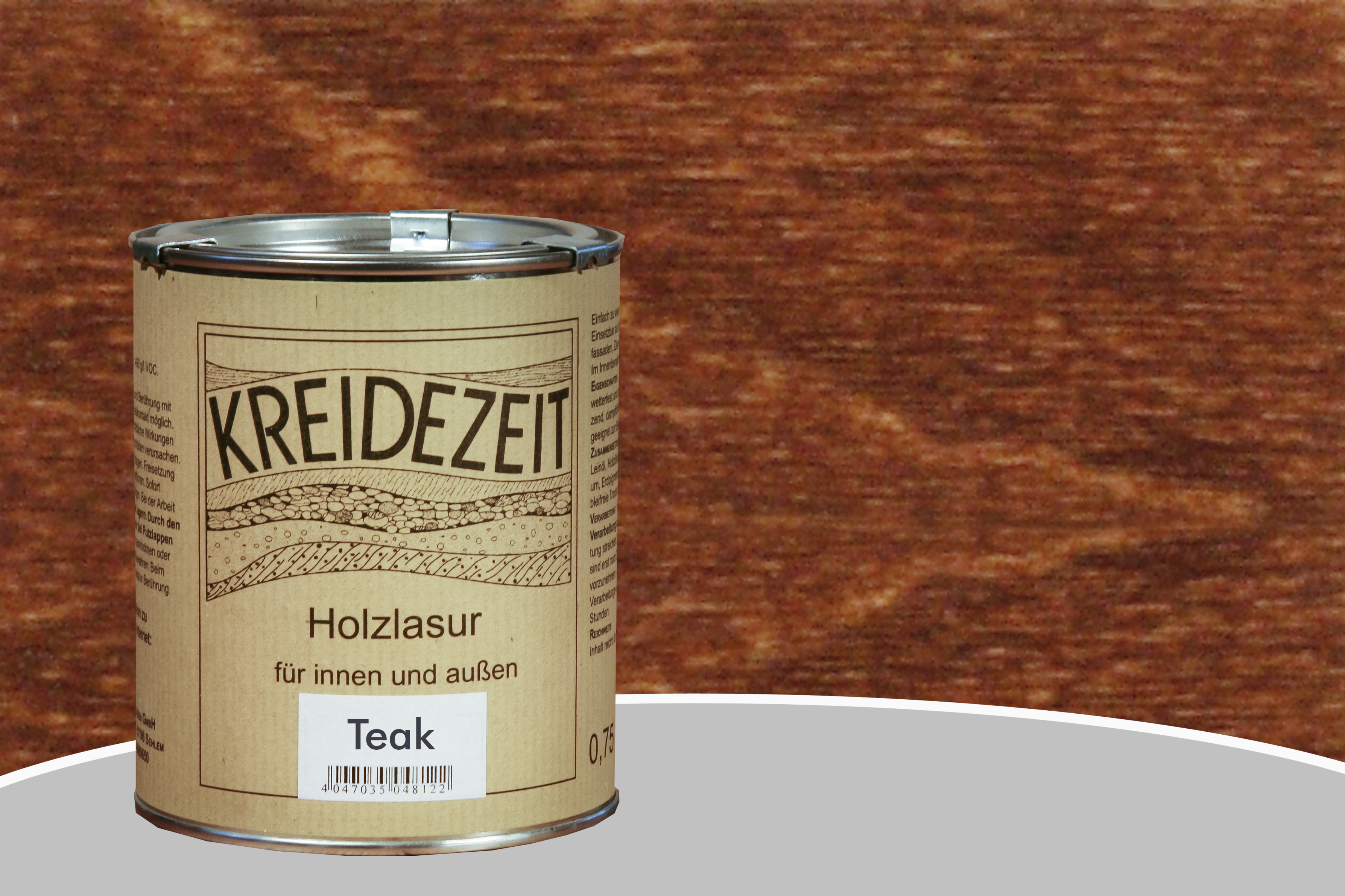 Kreidezeit Holzlasur Teak | Naturanum