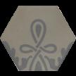 600161 - ø 16,0 x 1,6 cm - Sechseckplatte Standardsortiment