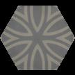 600261 - ø 16,0 x 1,6 cm - Sechseckplatte Standardsortiment